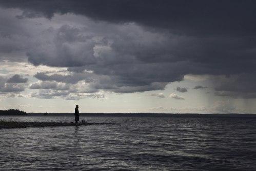 """Житейское море, воздвизаемое зря напастей бурею, къ тихому пристанищу Твоему притекъ, вопію Ти: возведи отъ тли животъ мой, Многомилостиве"" (6 Пѣснь покаяннаго Канона)"